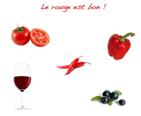 5 super aliments rouges pour votre sant synergie for Alimentation des poissons rouges