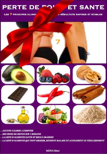 perte de poids et santé les 7 principes alimentaires pour des résultats rapides et stables