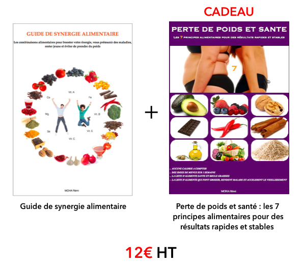 Boutique ebook synergie alimentaire