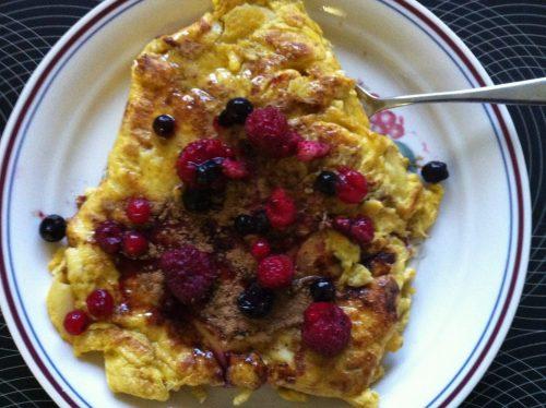 Pancake santé et brûle graisses