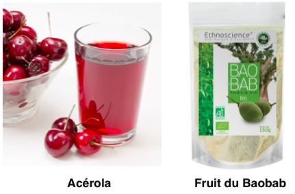 Acérola et Baobab - vitamince C