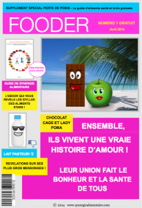 Couverture fooder magazine - synergie alimentaire