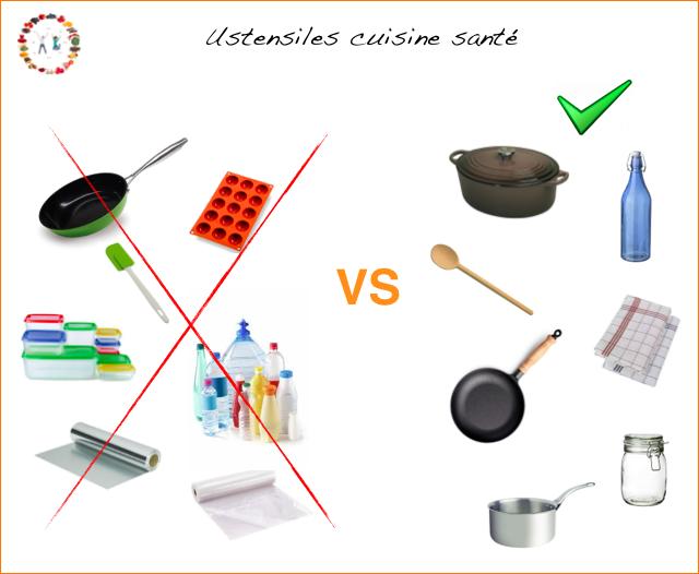 Ustensiles cuisine santé - synergie alimentaire