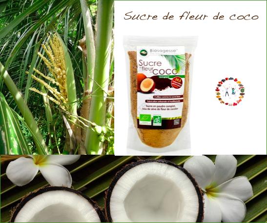 Vertus du sucre de fleur de coco -synergie alimentaire