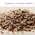 vertus du quinoa - synergie alimentaire