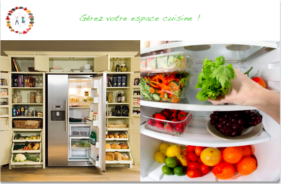 Gérer son espace cuisine - synergie alimentaire
