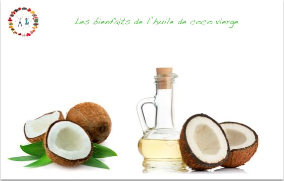 bienfaits de l'huile de coco - synergie alimentaire