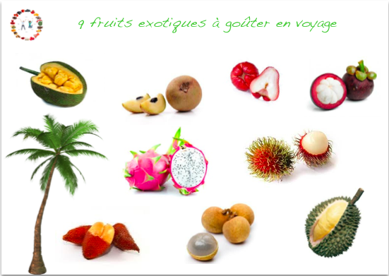 9 fruits exotiques vitamin s go ter en voyage synergie - Image fruit exotique ...