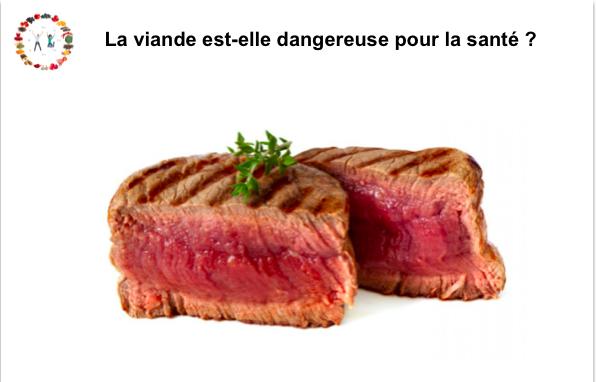 la viande est-elle dangereuse pour la santé ? synergie alimentaire