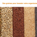 Des graines pour booster l'organsime - synergie alimentaire