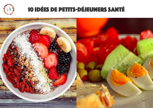 idées de petits-déjeuners santé