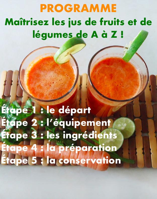 Programme jus de fruits et légumes