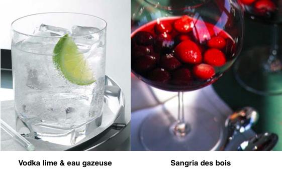 2 cocktails alcoolisés santé