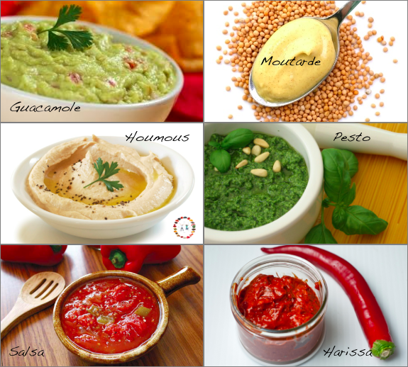 condiments sains -synergie alimentaire