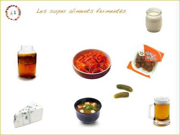 vertus des aliments fermentés -synergie alimentaire