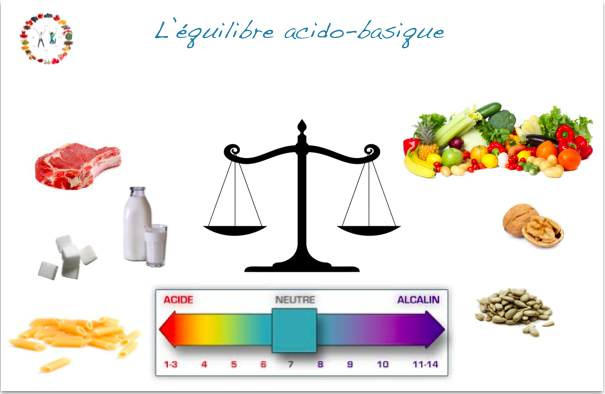 Equilibre acido-basique - synergie alimentaire