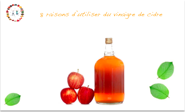 vertus du vinaigre de cidre -synergie alimentaire