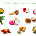 9 fruits exotiques - synergies alimentaire