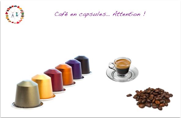 attention au café en capsules - synergie alimentaire