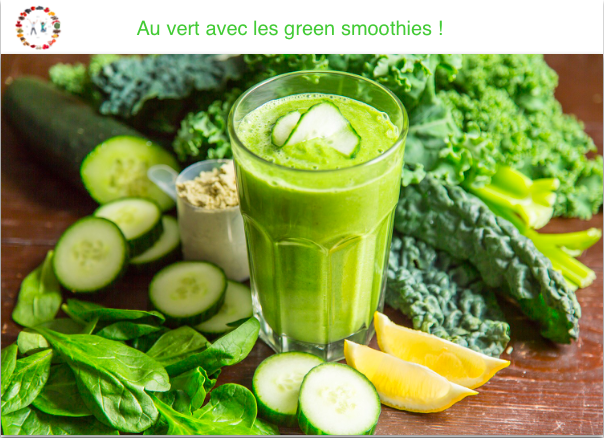 Green smoothies - synergie alimentaire